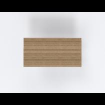 Rechthoekige bureaubladen