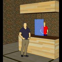 Safety Screen | Hangend